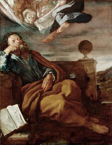 Domenico Fetti's depiction of Peter's dream.
